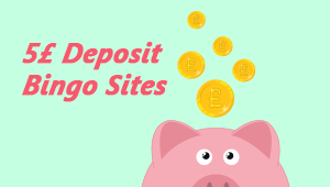 5 Pound Deposit Bingo Sites