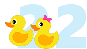 22 Two Little Ducks Bingo Numbers Funny